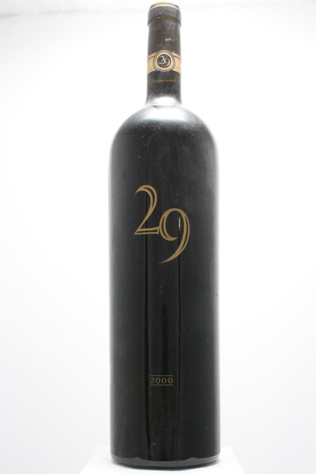 Vineyard 29 Cabernet Sauvignon 29 Estate 2000