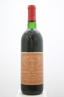 Clos du Val Cabernet Sauvignon 1974