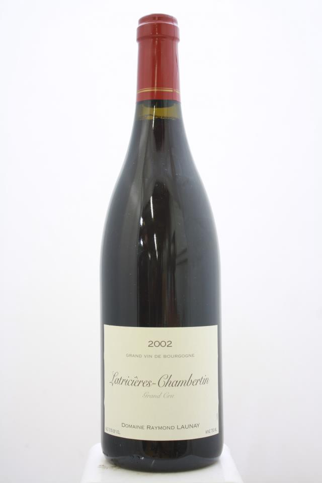 Raymond Launay Latricières-Chambertin 2002