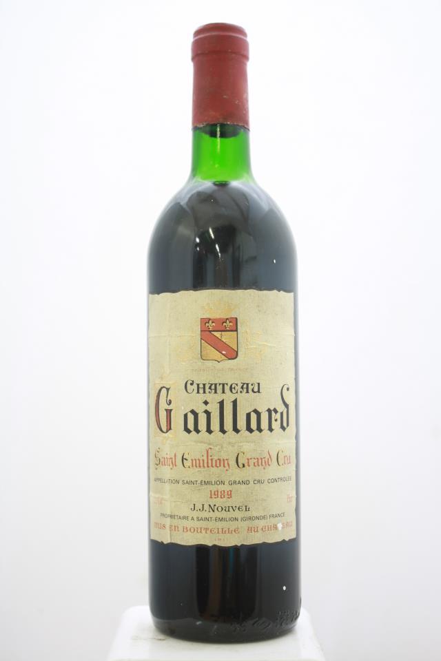 Gaillard 1989