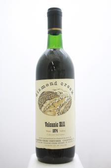 Diamond Creek Cabernet Sauvignon Volcanic Hill 1974