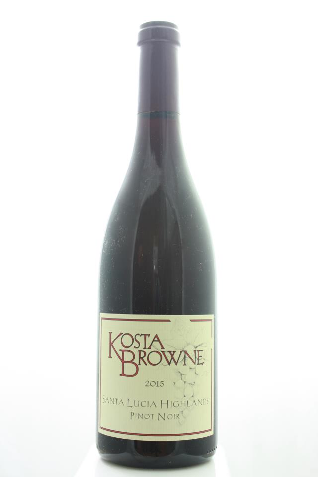 Kosta Browne Pinot Noir Santa Lucia Highlands 2015