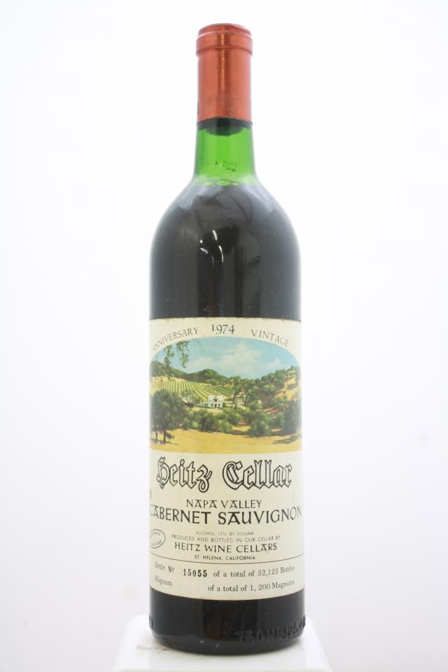 Heitz Cellar Cabernet Sauvignon Martha's Vineyard 1974