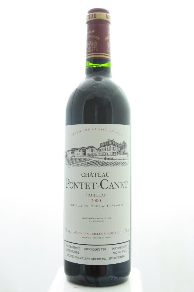 Pontet-Canet 2000