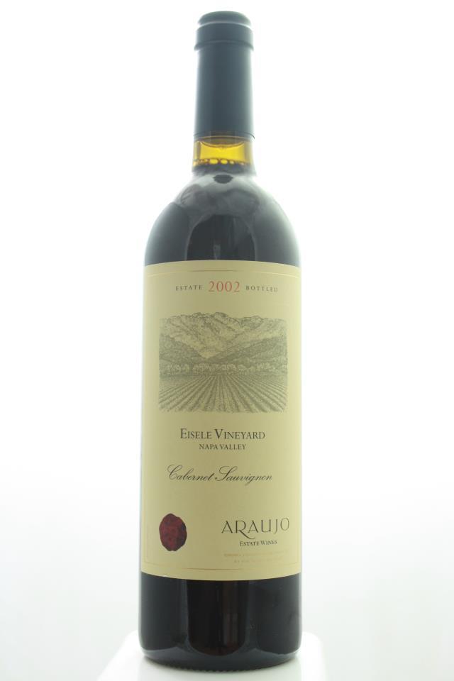 Araujo Estate Cabernet Sauvignon Eisele Vineyard 2002