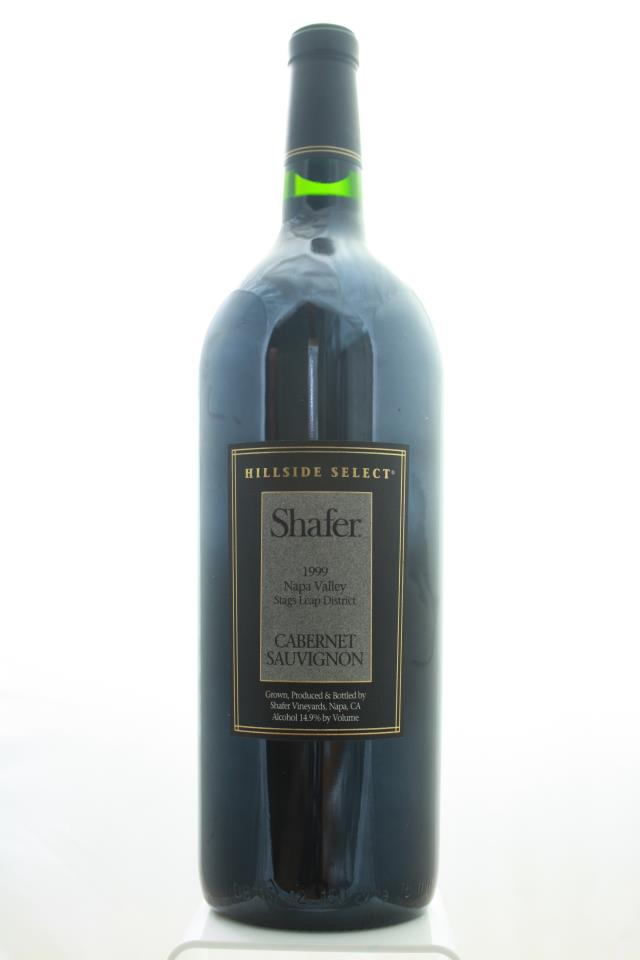 Shafer Cabernet Sauvignon Hillside Select 1999