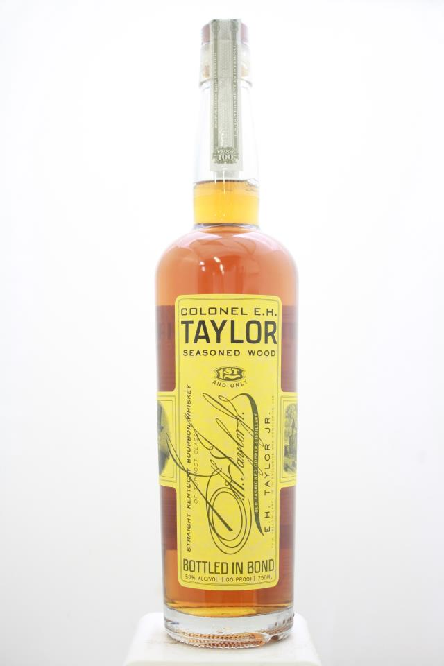 Colonel E.H. Taylor Straight Kentucky Bourbon Whiskey Seasoned Wood Bottled In Bond NV