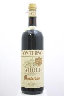 Giacomo Conterno Barolo Riserva Monfortino 2001