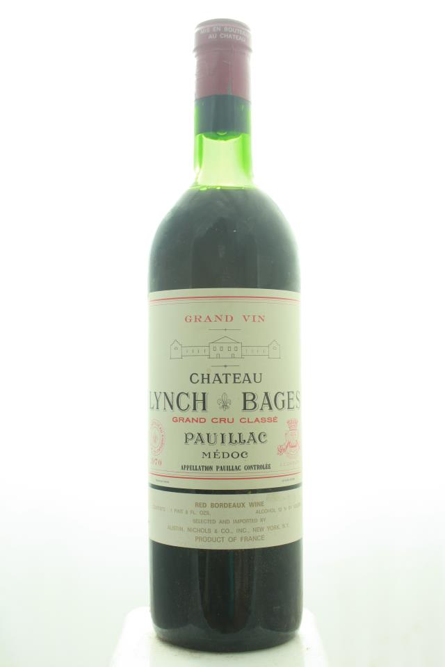 Lynch-Bages 1970