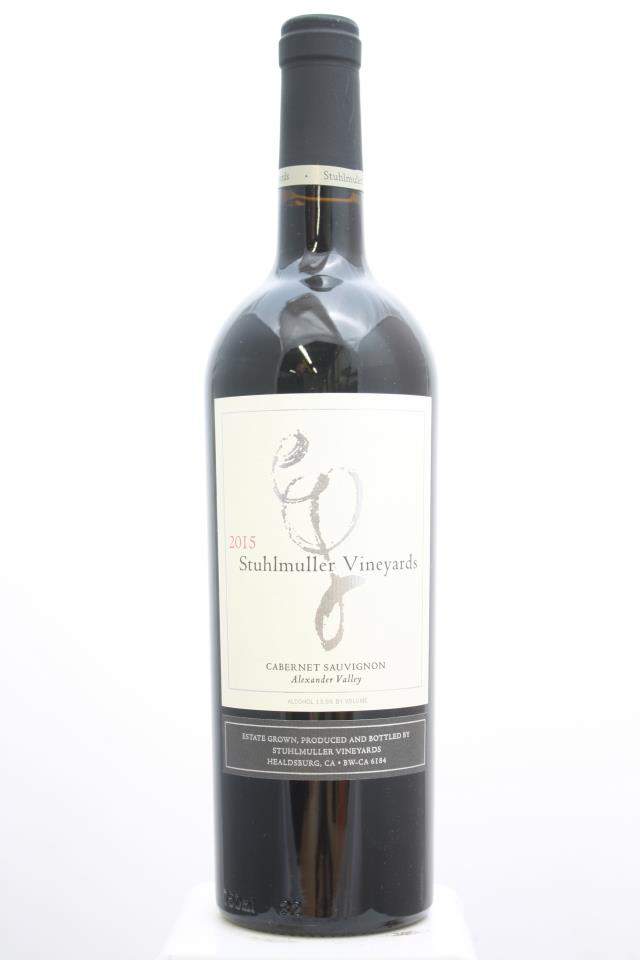 Stuhlmuller Vineyards Cabernet Sauvignon Estate 2015