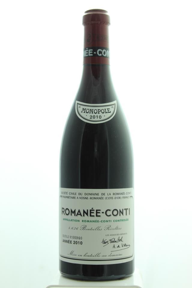 Domaine de la Romanée-Conti Romanée-Conti 2010