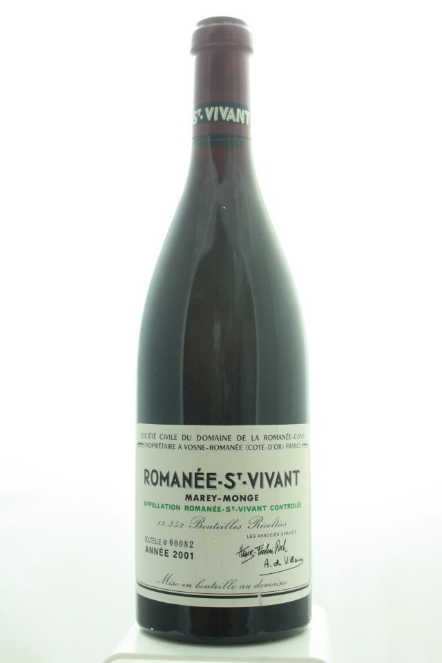 Domaine de la Romanée-Conti Romanée-Saint-Vivant Marey-Monge 2001