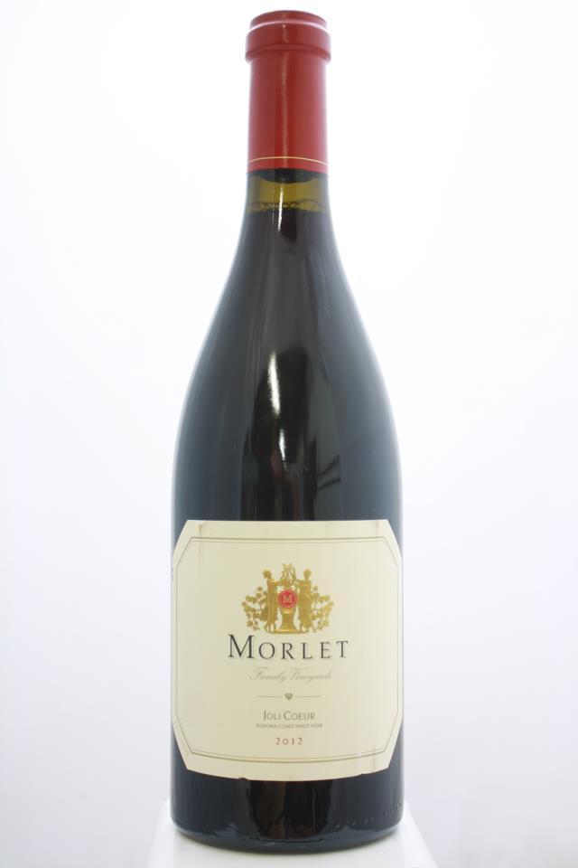 Morlet Family Vineyards Pinot Noir Joli Coeur 2012