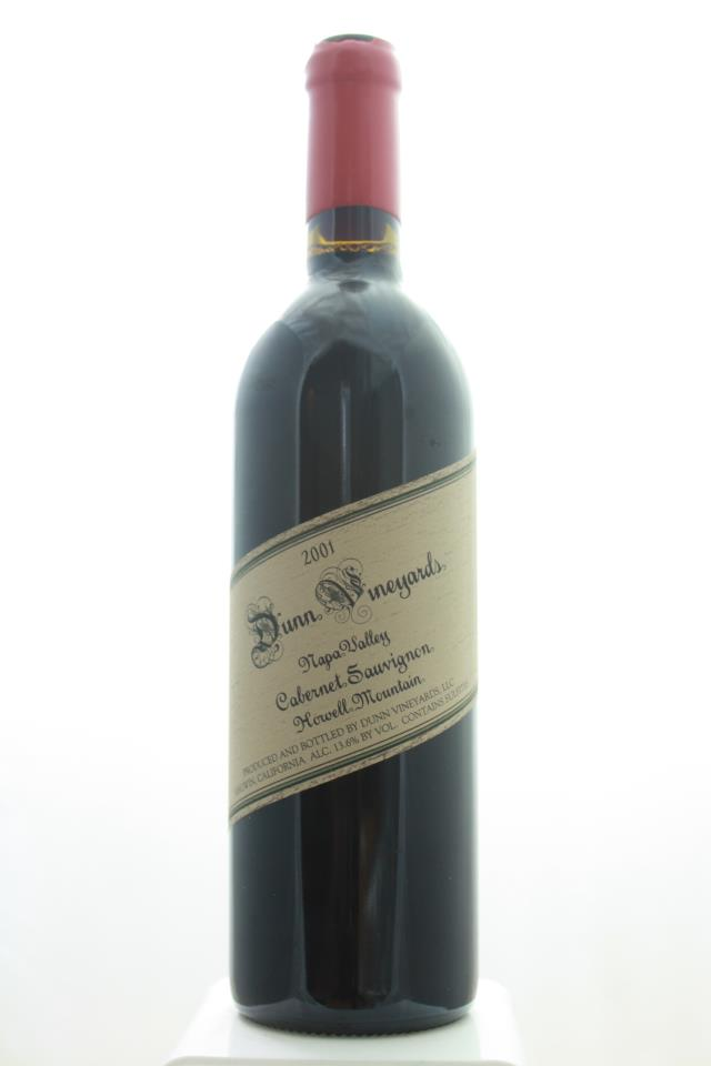 Dunn Cabernet Sauvignon Howell Mountain 2001