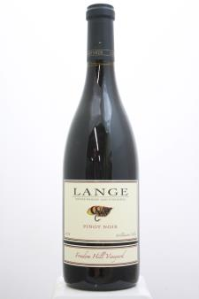 Lange Pinot Noir Freedom Hill Vineyard 2016
