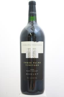 Sterling Vineyards Merlot Three Palms Vineyard 1996