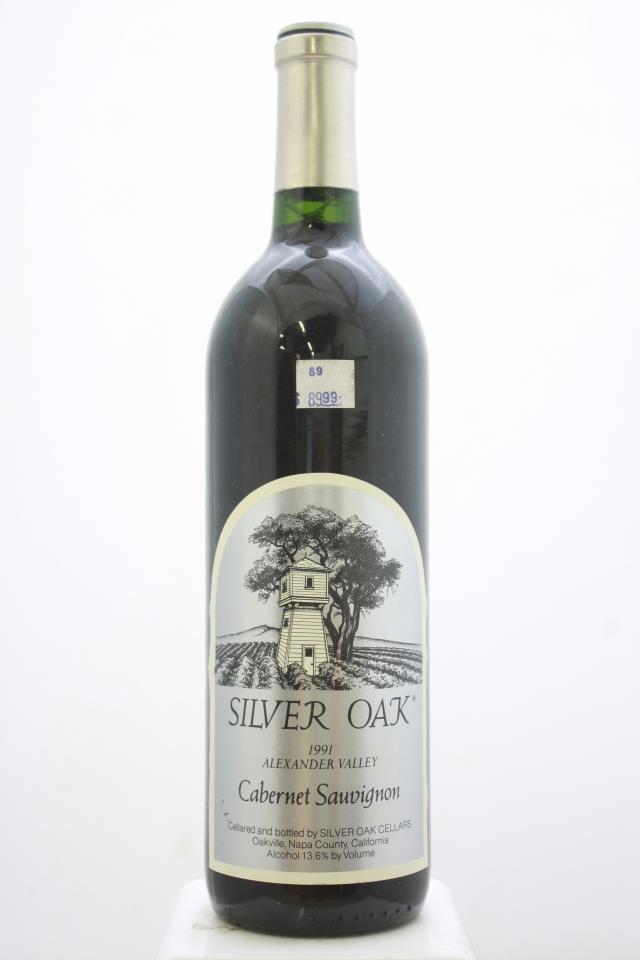 Silver Oak Cabernet Sauvignon Alexander Valley 1991
