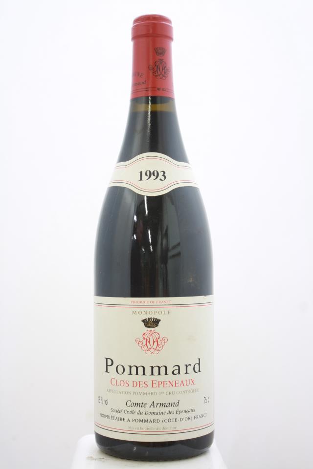 Comte Armand Pommard Clos des Epeneaux 1993