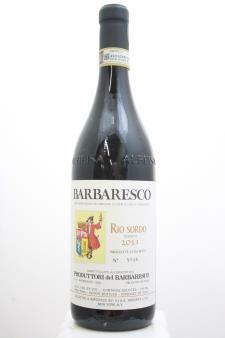 Produttori del Barbaresco Barbaresco Riserva Rio Sordo 2013
