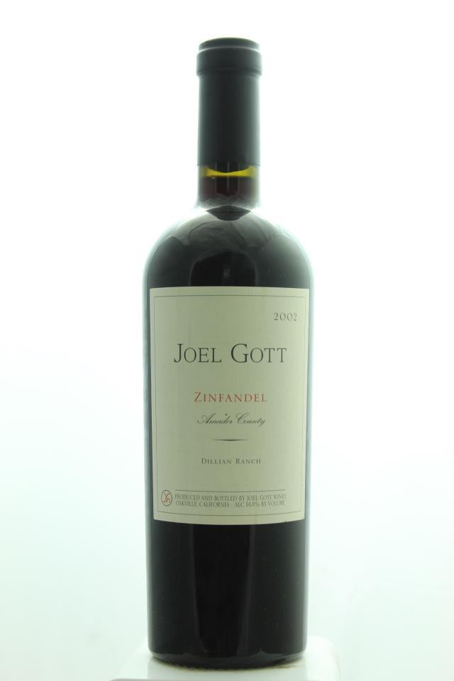 Joel Gott Zinfandel Dillian Ranch 2002