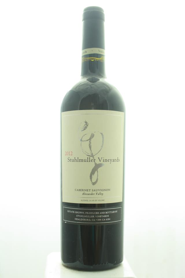 Stuhlmuller Vineyards Cabernet Sauvignon Estate 2012