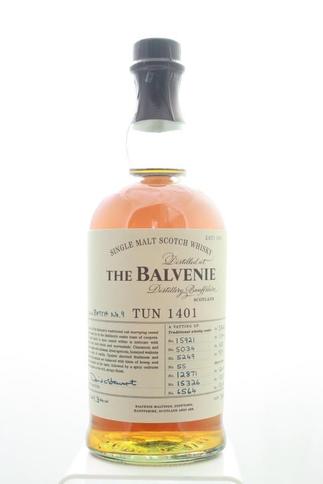 The Balvenie Single Malt Scotch Whisky Tun 1401 No.9 NV