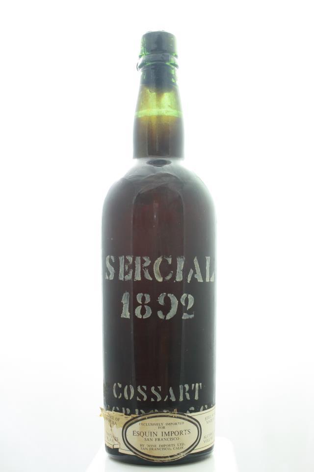 Cossart & Gordon Sercial 1892