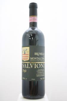 Salvioni Brunello di Montalcino Cerbaiola 1990