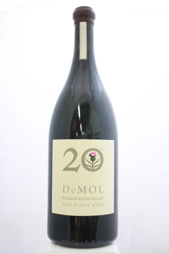 DuMol Pinot Noir 20th 2014