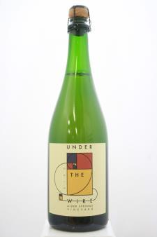 Under The Wire Sparkling Chardonnay Alder Springs Vineyard 2013