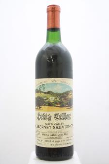 Heitz Cellar Cabernet Sauvignon Martha`s Vineyard 1974