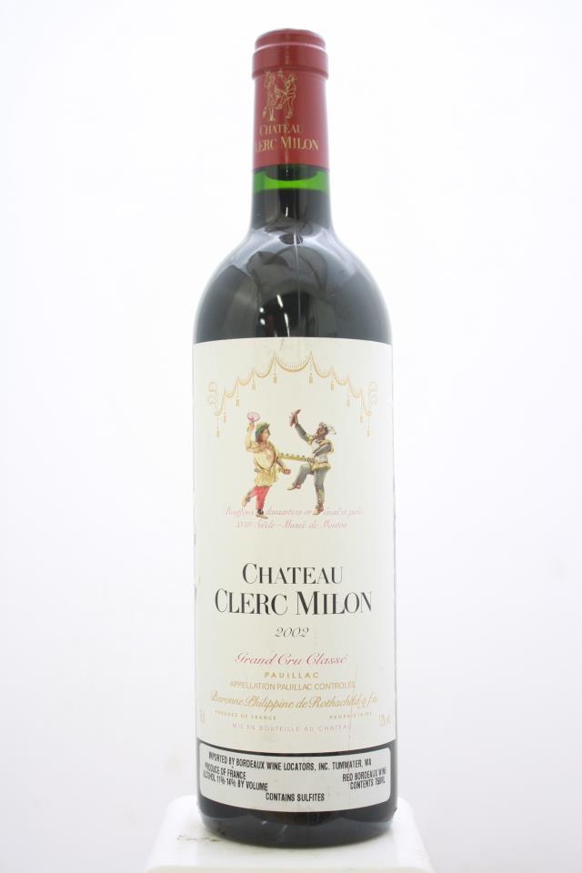 Clerc Milon 2002