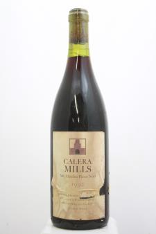 Calera Pinot Noir Mills 1992