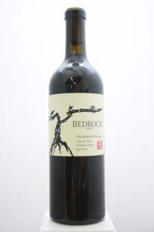 Bedrock Proprietary Red Bedrock Vineyard The Bedrock Heritage  2016