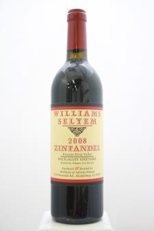 Williams Selyem Zinfandel Bacigalupi Vineyard 2008